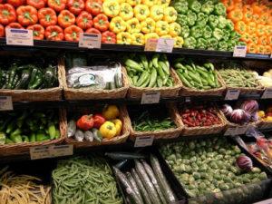Gemüsetheke
