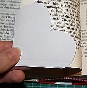 Lesezeichen aus Papier basteln