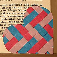 Herz-Lesezeichen