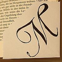 Lesezeichen aus Papier