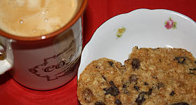 Müsli-Kekse zum Frühstück
