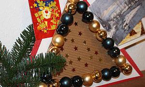 Weihnachtskarten Deko