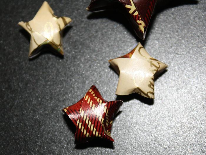 Weihnachtsdeko Papiersterne Mittags Pause De