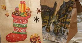 Geschenktüten für Weihnachten