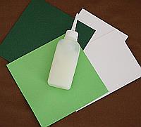 Material für Papierbaum