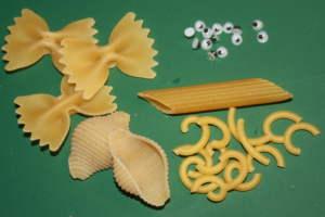 Material für Nudelengel