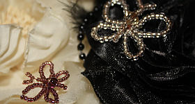Schmetterling aus Perlen – Anleitung