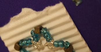 Perlensterne basteln