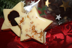 Sternen-Schokolade