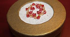 Perlenstern-Schachtel basteln