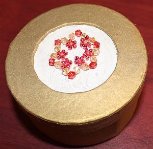 Perlenstern-Schachtel