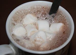 Heiße Trinkschokolade