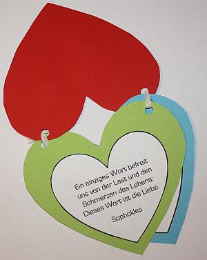 Leporello Herz