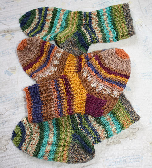 Kindersocken stricken