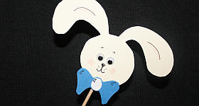 Blumentopf-Stecker für Ostern