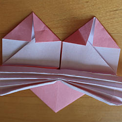 Papierherz falten
