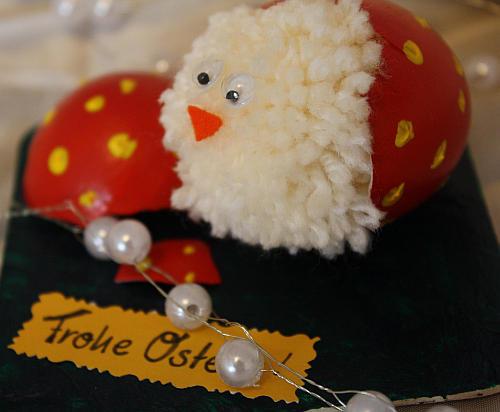 Osterküken basteln
