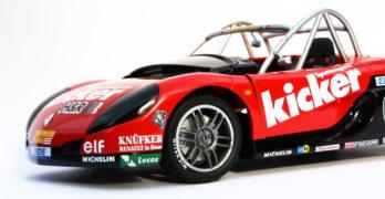 Modellauto-Vorstellung Renault Sport Spider von Anson in 1:18