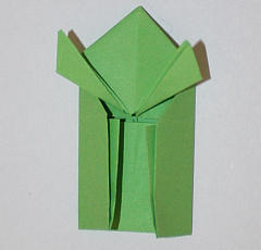 Origami-Frosch