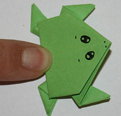 Origami-Frosch