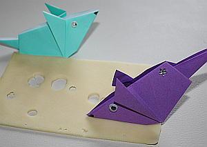 blume origami anleitung
