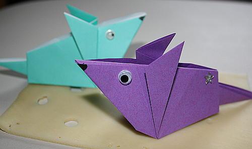 Origami Maus Anleitung