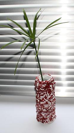 vase aus gips basteln. Black Bedroom Furniture Sets. Home Design Ideas