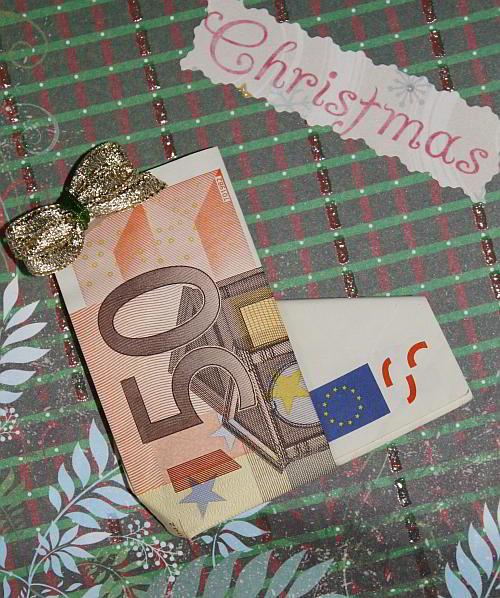 Geldgeschenke Zu Weihnachten Basteln