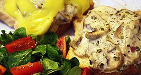 Champignon-Toast Rezept