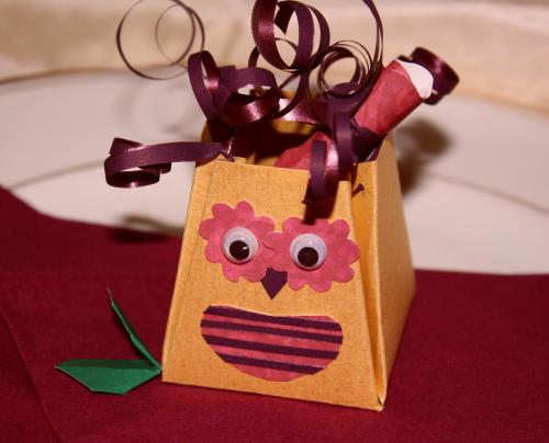 Eule Hilda als Geschenk basteln