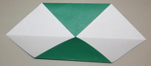 Origami Stechpalme falten