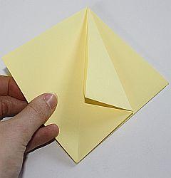 Origami-Sternenschachtel basteln