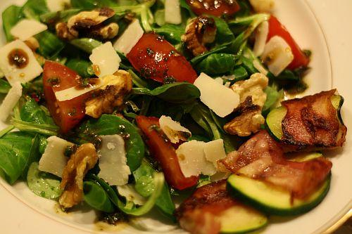 Salat als Vorspeise