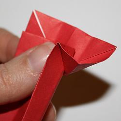 Krawatte aus Papier falten