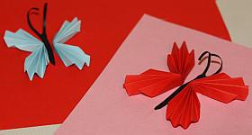 Deko-Schmetterling basteln