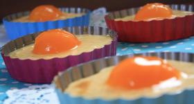 Spiegelei-Kuchen für Ostern