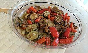 Antipasti mit Aubergine & Zucchini