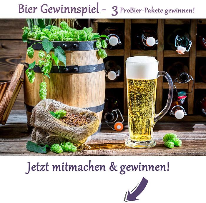 bier gewinnen