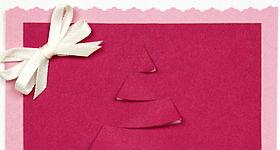 Weihnachtskarte für Freundin