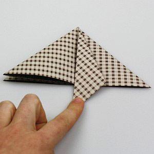 Weihnachtskarten Origami.Weihnachtskarte Selber Machen