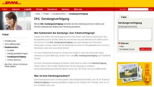 wo dhl paket abgeben tracking support. Black Bedroom Furniture Sets. Home Design Ideas