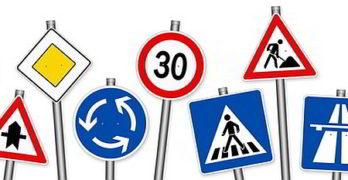 Wann sind Verkehrszeichen zu beachten?