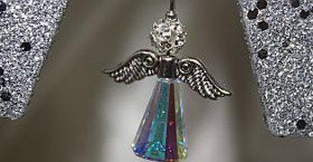 Perlen-Engel basteln